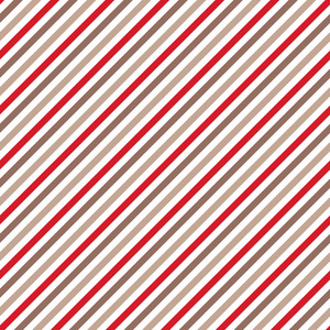Red And Brown Diagonal Striped Pattern
