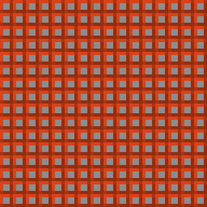 Red And Grey Cube Minecraft Pattern