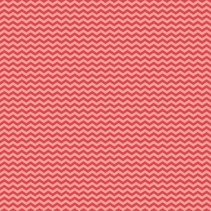 Red And Pink Chevron Pattern On Hot Air Balloon Paper