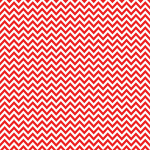 Red And White Chevron Pattern On Mickey Paper