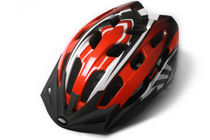 Red Bike Helmet