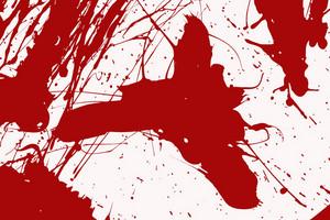 Red Blood Splash