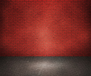 Red Brick Interior Background