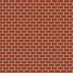 Red Brick Minecraft Pattern