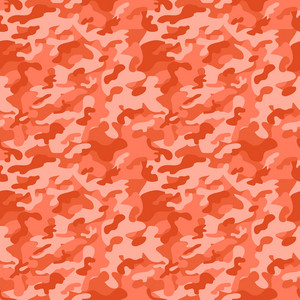 Red Camouflage Pattern