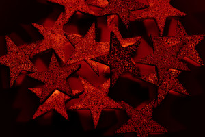 Red Christmas Stars