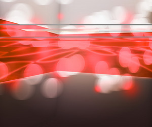 Red Data Transfer Abstract Background