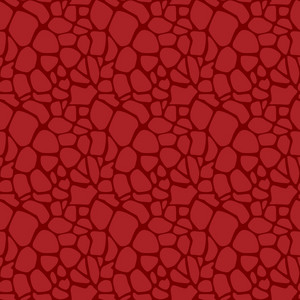 Red Dinosaur Skin Pattern