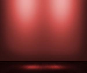 Red Empty Interior Background