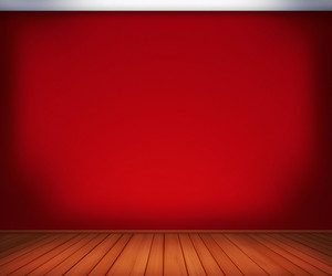 Red Empty Room Background