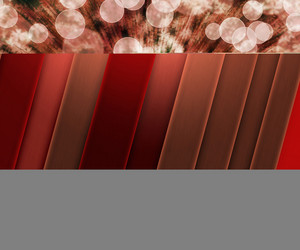 Red Flower Abstract Background