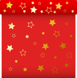 Red Gift Box - Christmas Vector Illustration