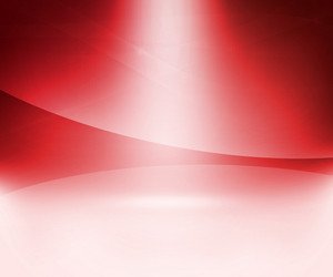 Red Glow Abstract Background