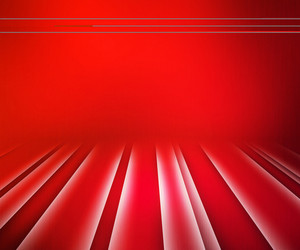 Red Glowing Stripes Stage Background