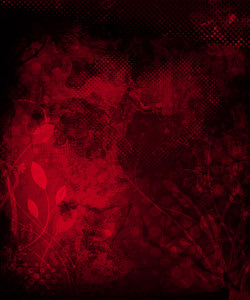 Red Grunge Vintage Background