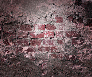 Red Grunge Wall Texture