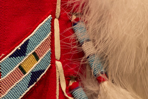 Red Indian Costume Background