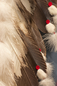 Red Indian Costume Wings