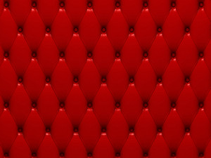 Red Leather 3d