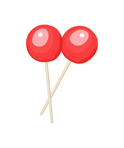 Red Lollipop Candies