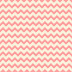Red Pastel Chevron Pattern