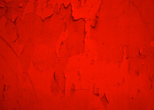 Red Peel Off Paint Texture