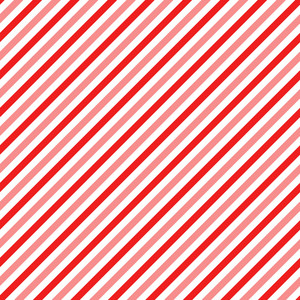 Red, Pink, And White Diagonal Stripes Pattern On Mickey Paper