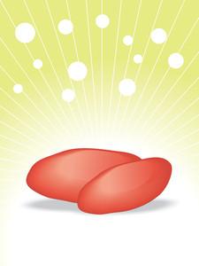Red Potato Illustration