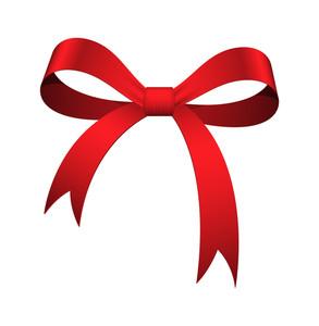 Red Ribbon Bow
