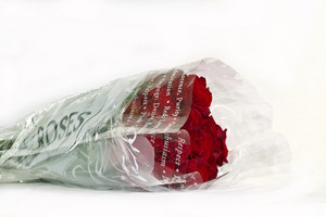 Red Roses In Store Package