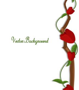 Red Roses Valentine Banner