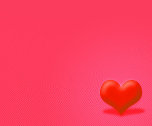 Red Simple Valentine Background