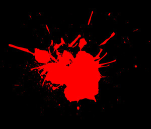 Red Splash Background