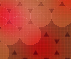 Red Technical Background