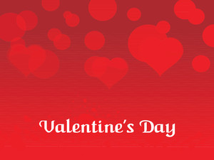 Red Valentine Day Background