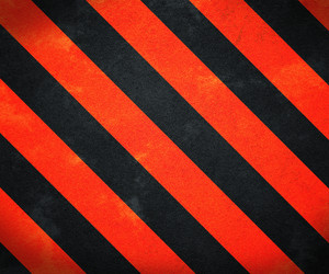 Red Warning Stripes Background