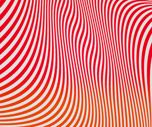Red Wavy Stripes Texture