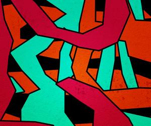 Red Zigzag Texture