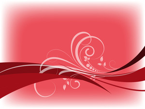 Reddish Swirly - Vector Background