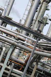 refinery industrial pipelines