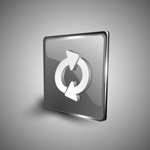 Refresh Symbol Icon Set.