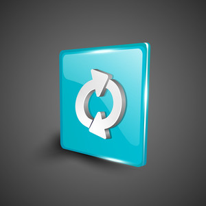 Refresh Symbol Icon Set.