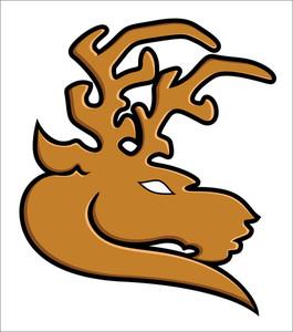Reindeer Vector Illustartion