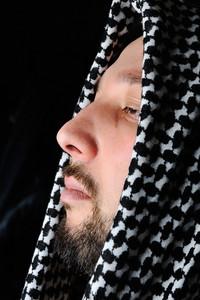 Religious arabic man