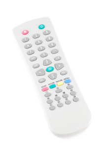 Remote Control On White