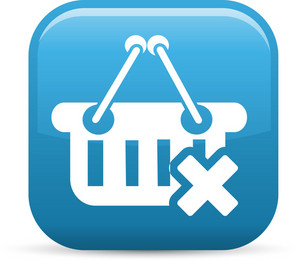 Remove From Basket Elements Glossy Icon