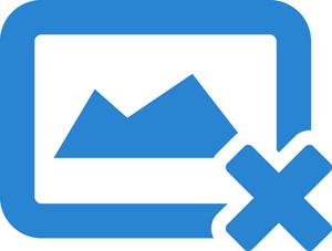 Remove Image Simplicity Icon