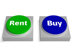 Rent Buy Buttons Shows Renting Or Buying