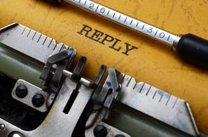 Replay On Typewriter