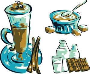 Restaurant Menu Illustrations